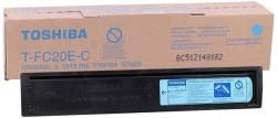 Toshiba - Toshiba T-FC20E-C Mavi Orjinal Fotokopi Toner