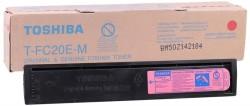 Toshiba - Toshiba T-FC20E-M Kırmızı Orjinal Fotokopi Toner