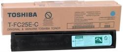 Toshiba - Toshiba T-FC25E-C Mavi Orjinal Fotokopi Toner