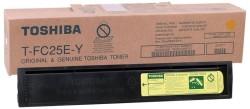 Toshiba - Toshiba T-FC25E-Y Sarı Orjinal Fotokopi Toner