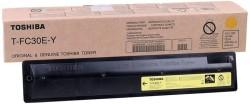 Toshiba - Toshiba T-FC30E-Y Sarı Orjinal Fotokopi Toner