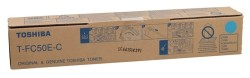 Toshiba - Toshiba T-FC50E-C Mavi Orjinal Fotokopi Toner
