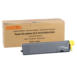 Utax - Utax CLP-3416/4441610016 Sarı Orjinal Fotokopi Toner