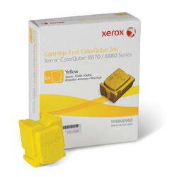 Xerox - Xerox ColorQube 8870-108R00960 Sarı Orjinal Katı Mürekkep 6Lı