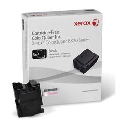 Xerox - Xerox ColorQube 8870-108R00961 Siyah Orjinal Katı Mürekkep 6Lı