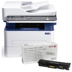 Xerox - Xerox WorkCentre 3225V_DNIY Çok Fonksiyonlu Mono Lazer Yazıcı Toner Hediyeli