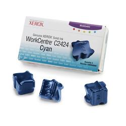 Xerox - Xerox Workcentre C2424-108R00660 Mavi Orjinal Katı Mürekkep 3Lü